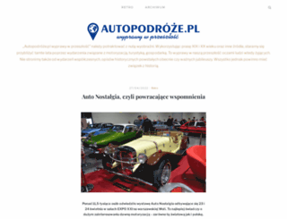 autopodroze.pl screenshot