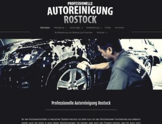 autoreinigung-rostock.de screenshot