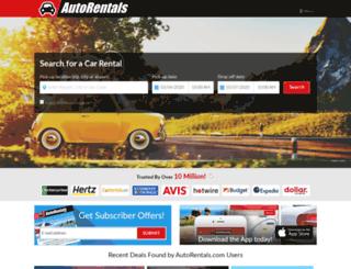 autorentals.com screenshot