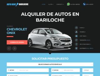 autorentbariloche.com.ar screenshot