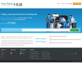 autorepairhub.com screenshot