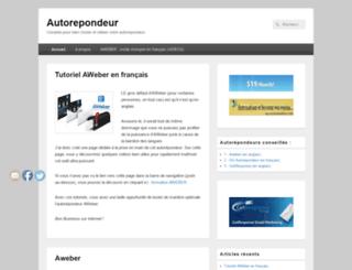 autorepondeur.org screenshot