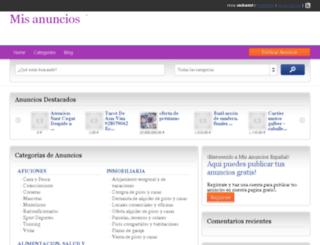 autos.mis-anuncios.es screenshot