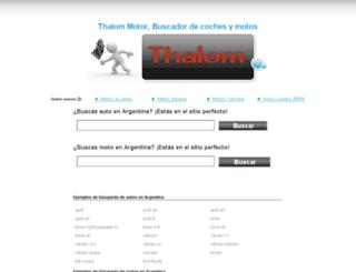 autosargentina.autothalom.com screenshot