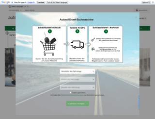 autoschluessel-online.de screenshot