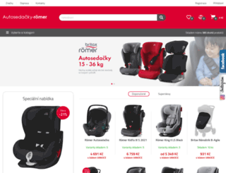 autosedacky-romer.cz screenshot