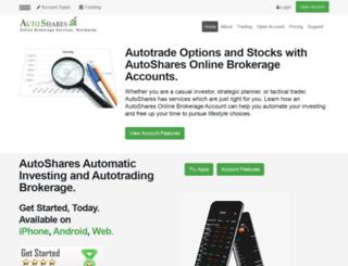 autoshares.com screenshot