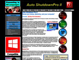 autoshutdownpro.com screenshot