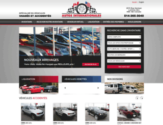 autosinternationales.com screenshot