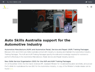 autoskillsaustralia.com.au screenshot