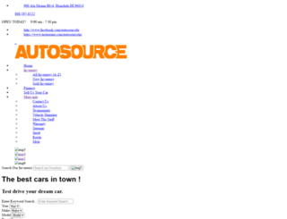 autosourcehawaii.com screenshot