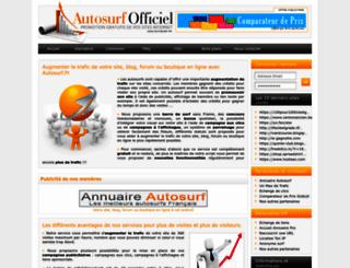 autosurf.fr screenshot