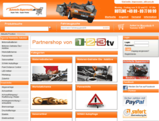 autoteile-supermarkt.de screenshot