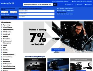 autoteile24.de screenshot