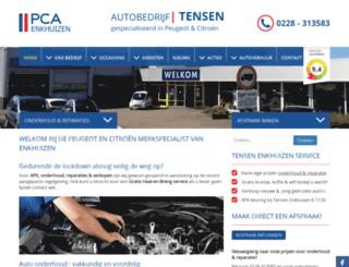 autotensenenkhuizen.nl screenshot