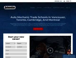 autotrainingcentre.com screenshot