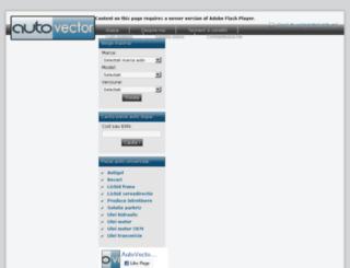 autovector.ro screenshot