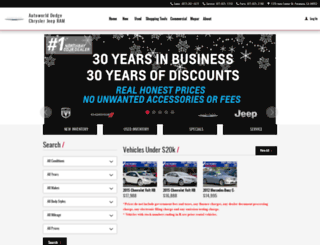 autoworlddodge.com screenshot
