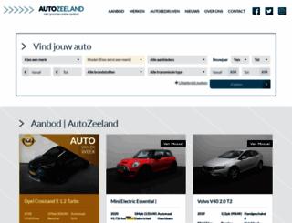 autozeeland.nl screenshot