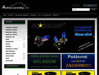 autoziarovky.eu screenshot