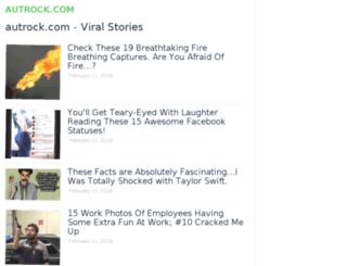 autrock.com screenshot