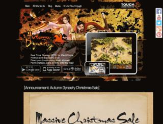 autumndynasty.com screenshot