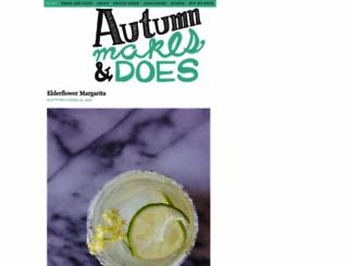 autumnmakesanddoes.com screenshot