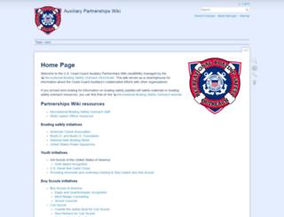 auxbdeptwiki.cgaux.org screenshot