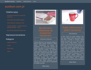 auxilium.com.pl screenshot