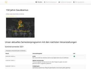 av-gaudeamus.de screenshot