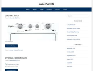 avagmah.in screenshot