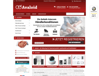 avaloid.de screenshot