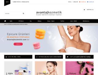 avantajkozmetik.com screenshot
