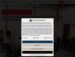 avantgarde-labs.de screenshot