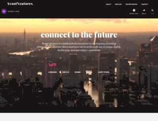 avantventures.co.uk screenshot