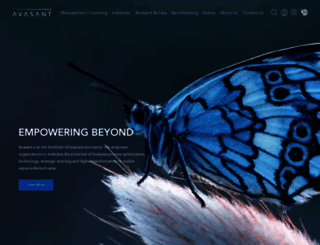 avasant.com screenshot