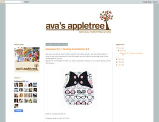 avasappletree.blogspot.com screenshot