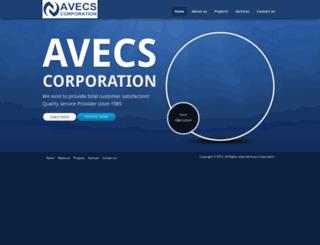 avecscorp.com screenshot