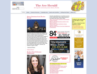 aveherald.com screenshot