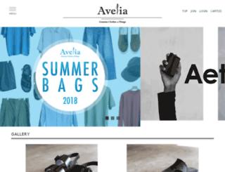 avelia.shop-pro.jp screenshot