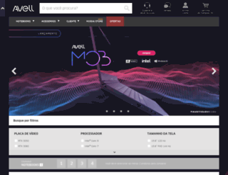 avell.com screenshot