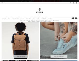 avesuveganshoes.com screenshot