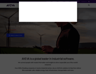 aveva.com screenshot