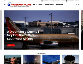 avgeekery.com screenshot