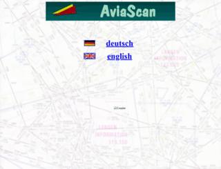 aviascan.de screenshot