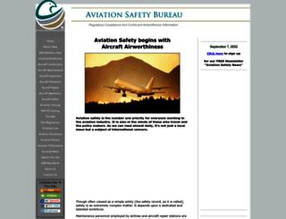 aviation-safety-bureau.com screenshot