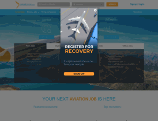 aviationcv.com screenshot