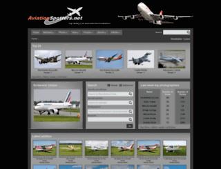 aviationspotters.net screenshot