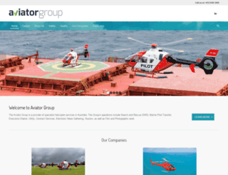 aviatorgroup.com.au screenshot
