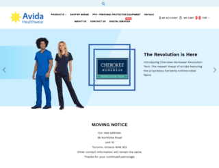 avidastore.com screenshot
